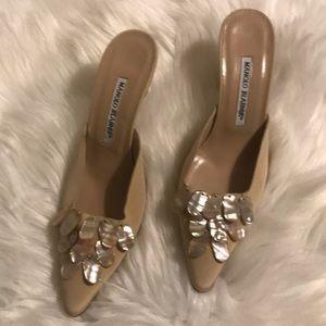 Manolo Blahnik heels size 36.5